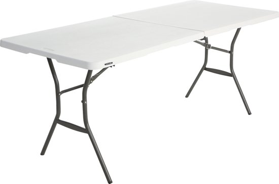 Lifetime Tyrell Opvouwbare tafel - Wit